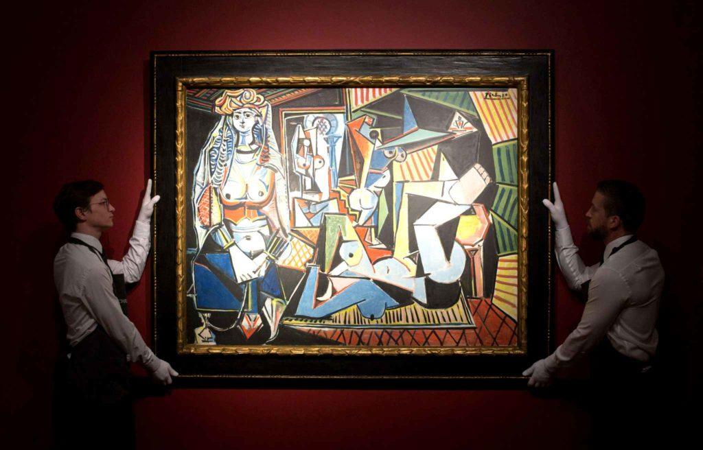 Les Femmes d'Alger Pablo Picasso vendu à 179,4 millions de dollars