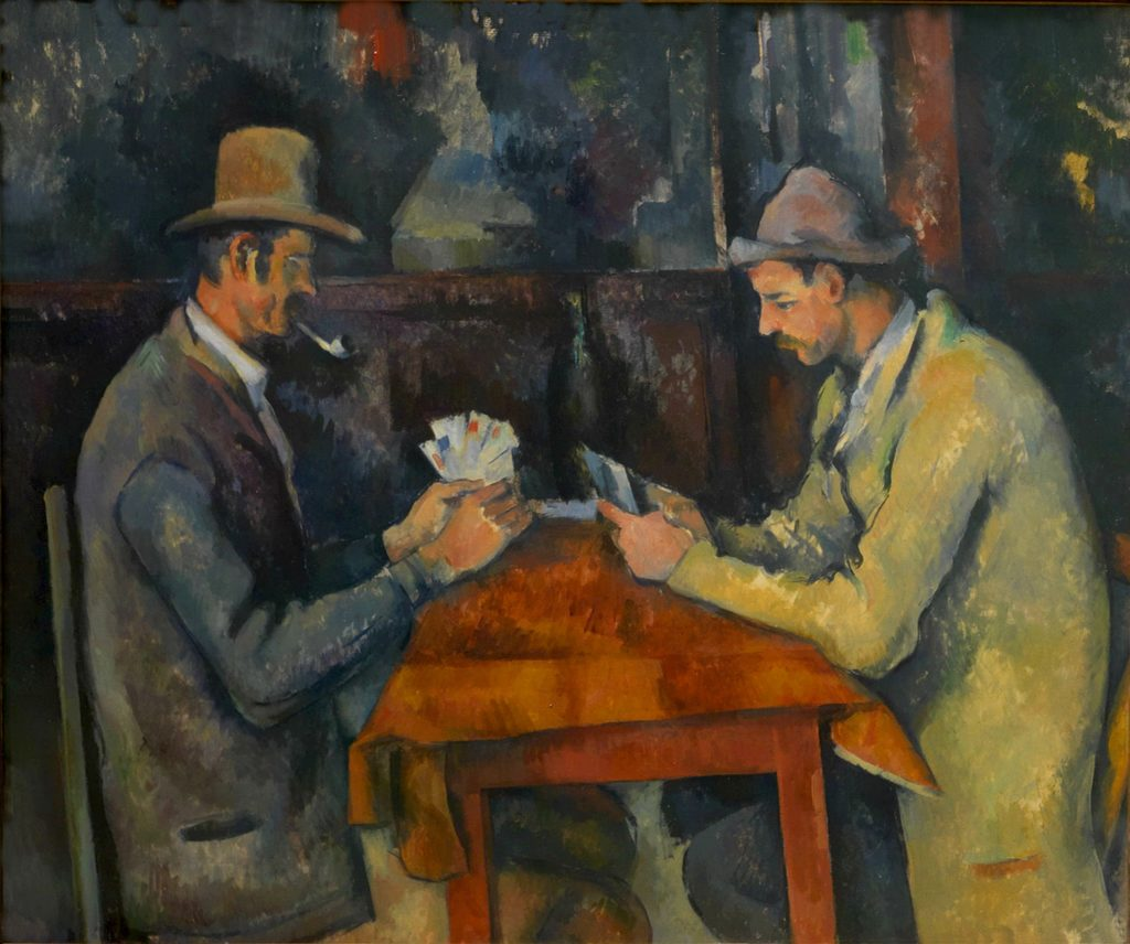 Les Joueurs de cartes de Paul Cézanne vendu 250 millions de dollars