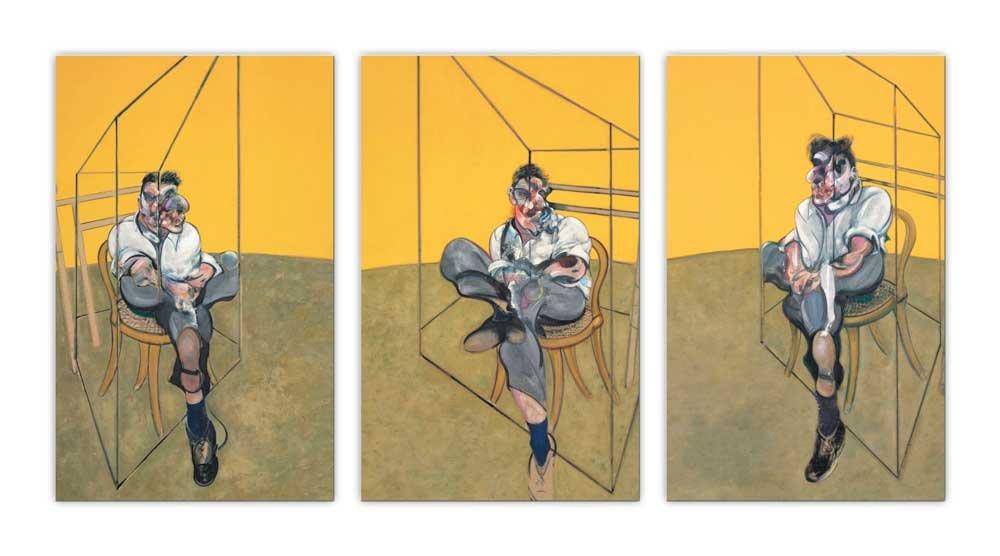 Trois études de Lucian Freud, de Francis Bacon